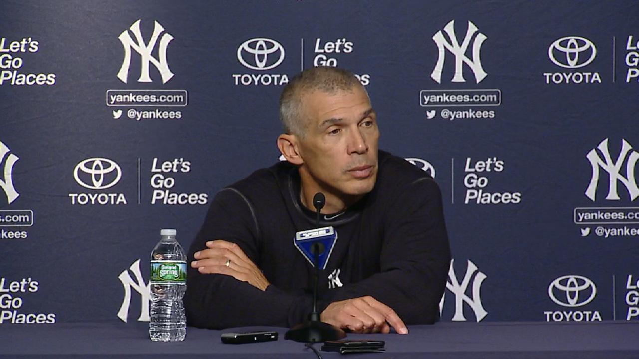 Girardi on Tanaka's performance