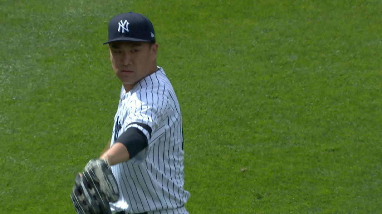 Tanaka's 15 K's in 15 seconds