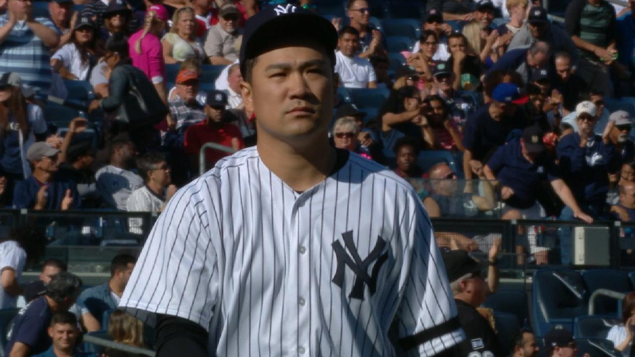 Tanaka's career-high 15 K's