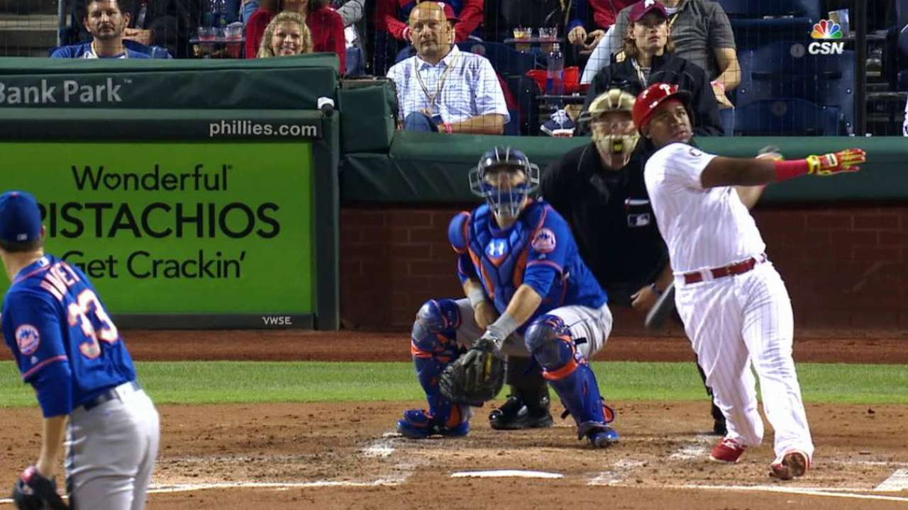 Phils muscle up behind strong Lively vs. Mets