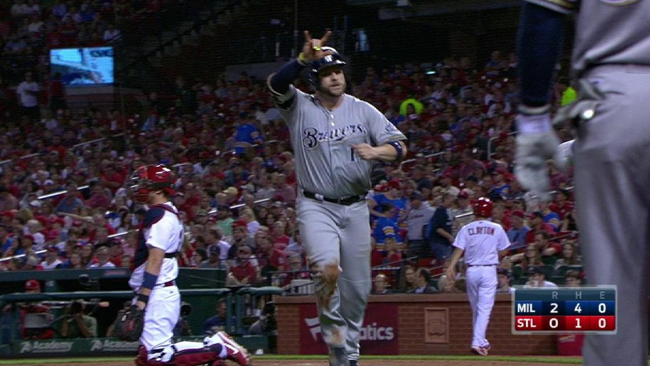 Crew clips Cards, stays alive in NL WC hunt