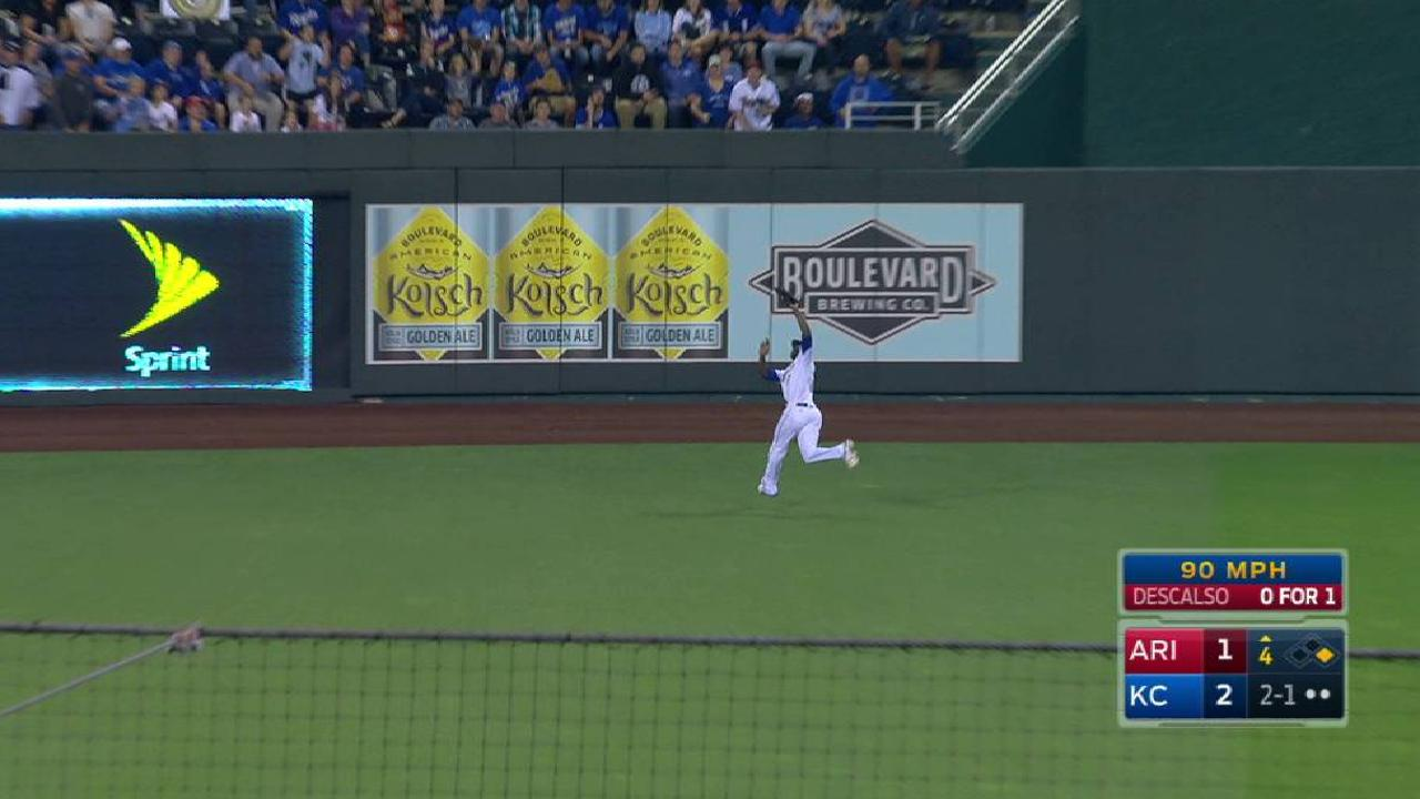 Cain's running catch