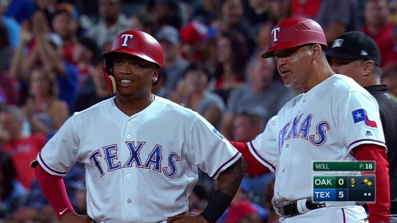 Calhoun starting to find his way with Rangers