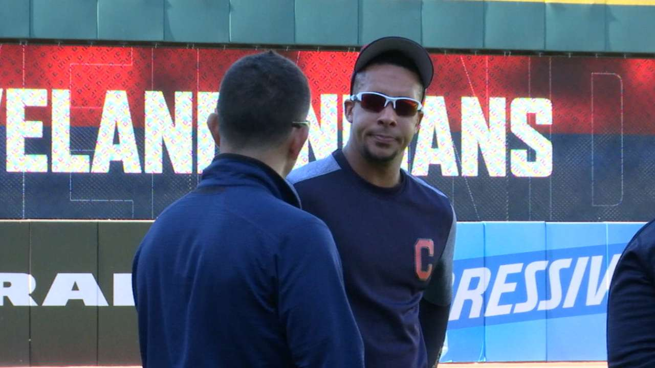 Brantley closes in on comeback