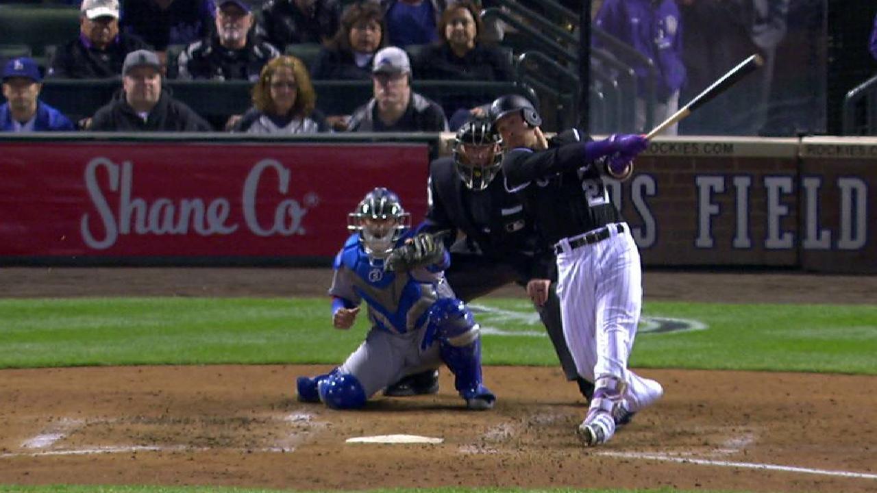 Story's two-run home run