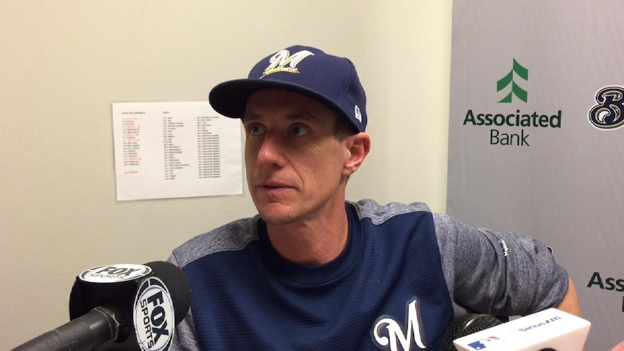 Counsell on Anderson's start