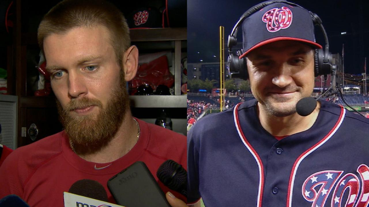 Strasburg and Zimmerman on win