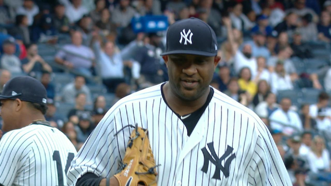 CC does his part as Yanks get set for Twins