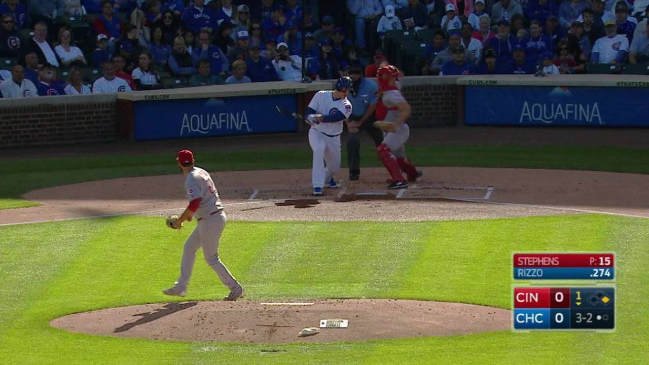 Reds can't get going, silenced by Cubs