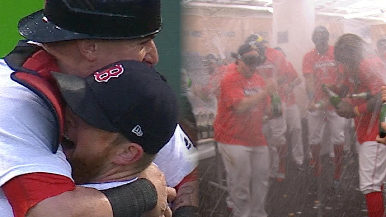 Must C: Red Sox clinch AL East
