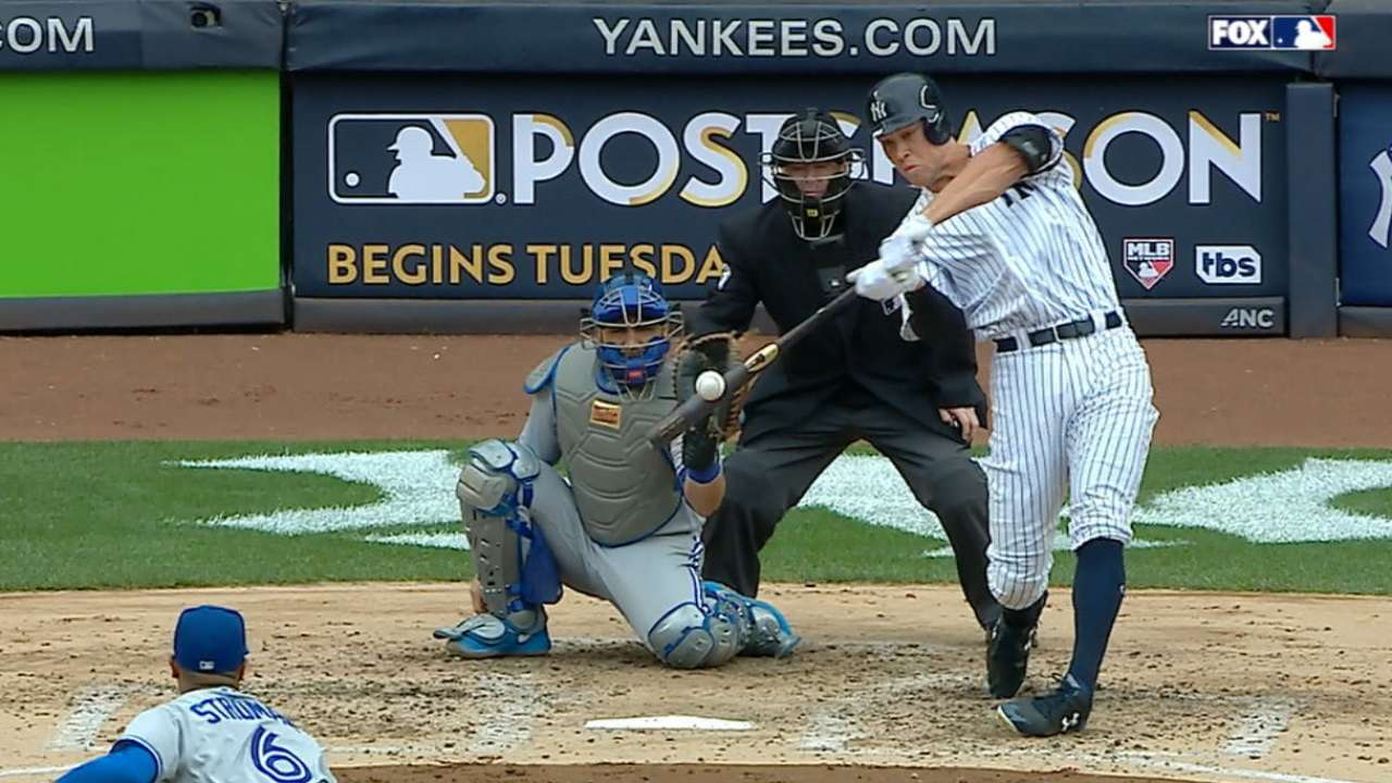 Judge powers NY, but AL East title chase ends