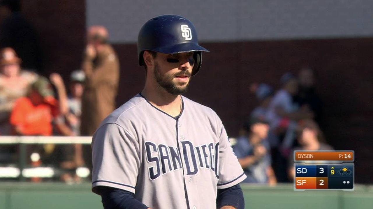 Padres rally behind Hedges; Myers hits 30th