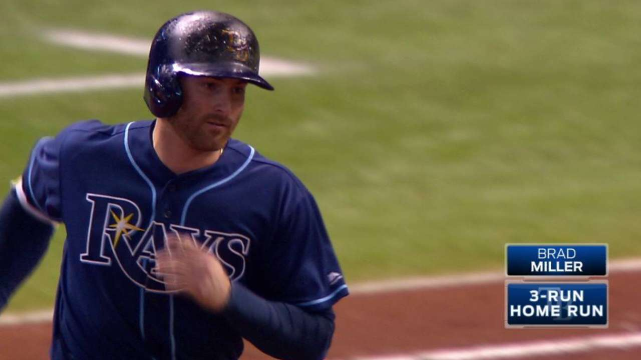 Miller, Archer boost Rays in series win vs. O's