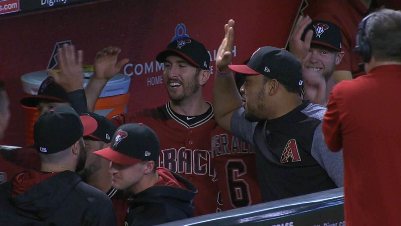 Before they were postseason bound: D-backs
