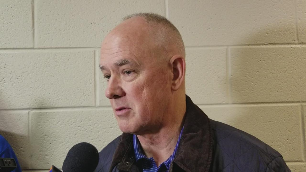 Alderson discusses reports on team conflicts