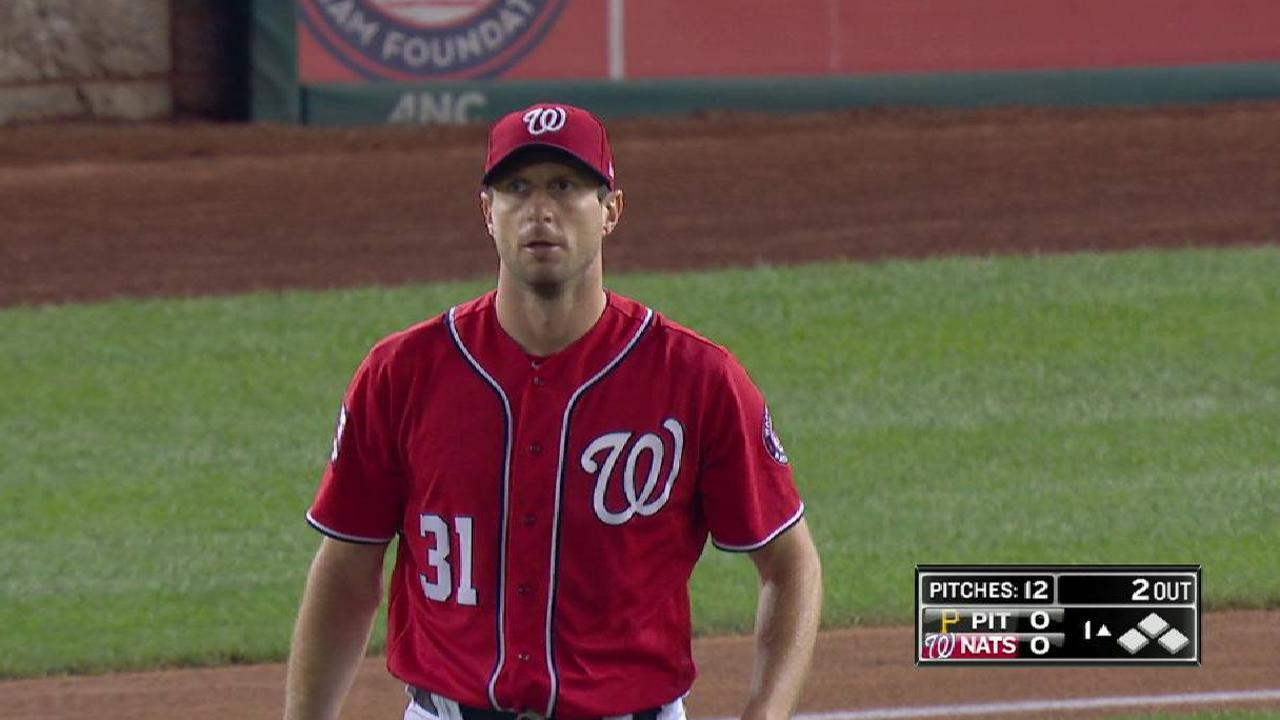 Bucs score 4 in 9th, stun Nats after Max exits