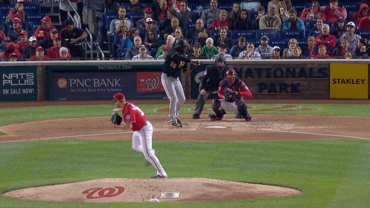 Scherzer plays catch, but no bullpen session
