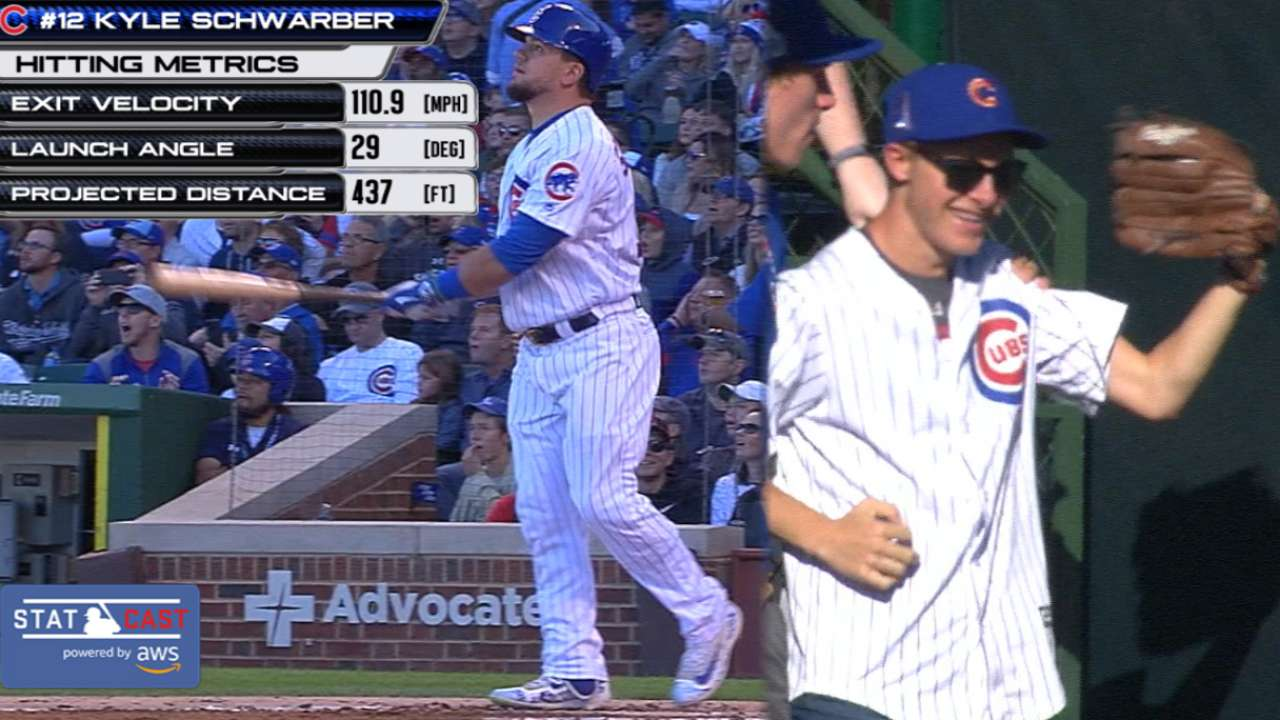 Cubs carrying experience, quiet confidence