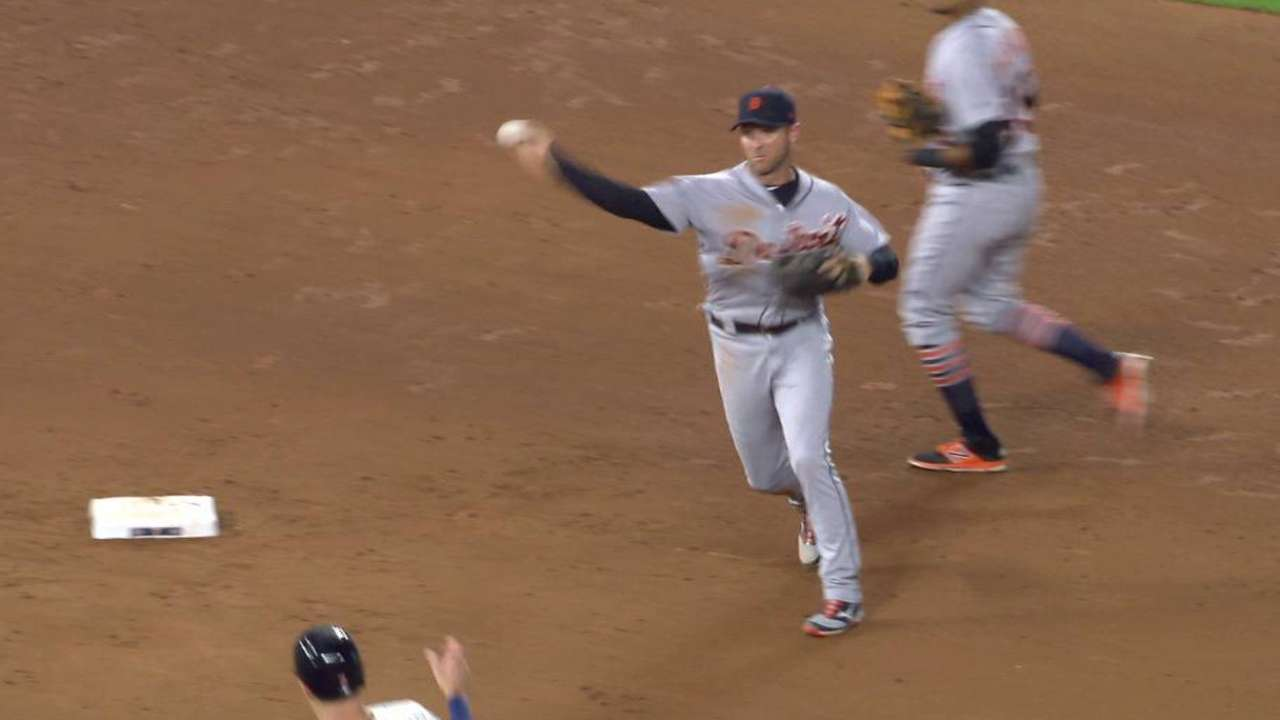 Romine completes 4-6-3 DP