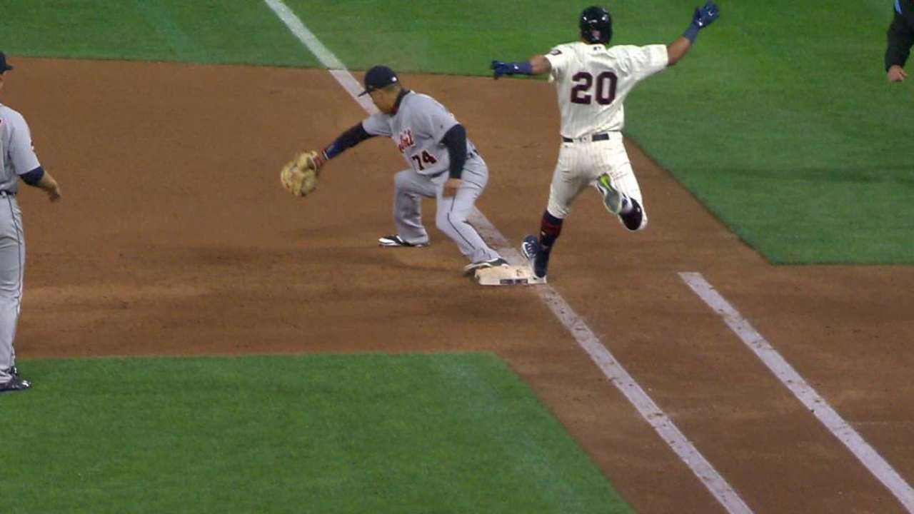 Machado's fantastic grab, throw