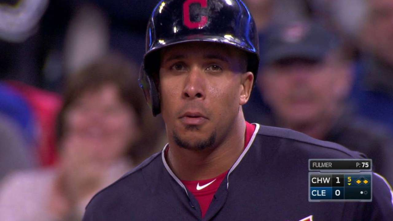 Brantley good to go on Indians' playoff roster