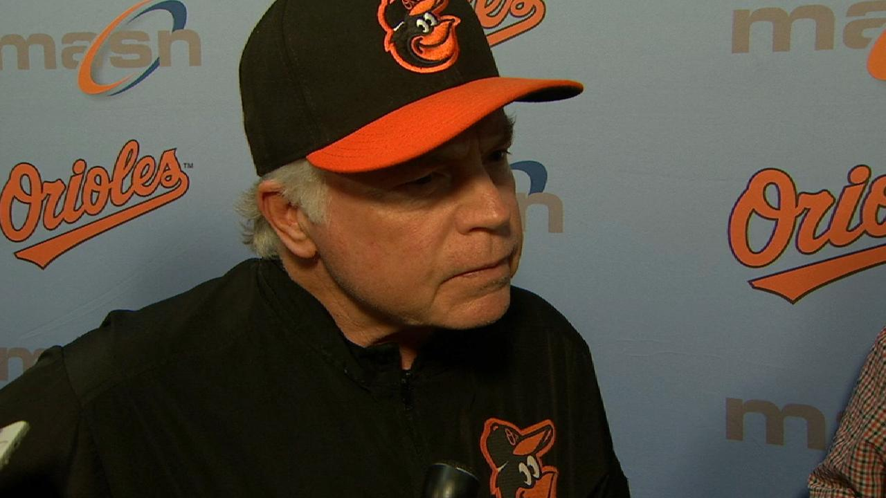 Showalter discusses the loss