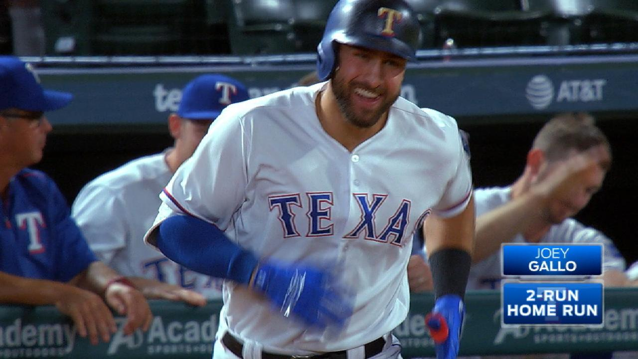 Gallo's two-homer game