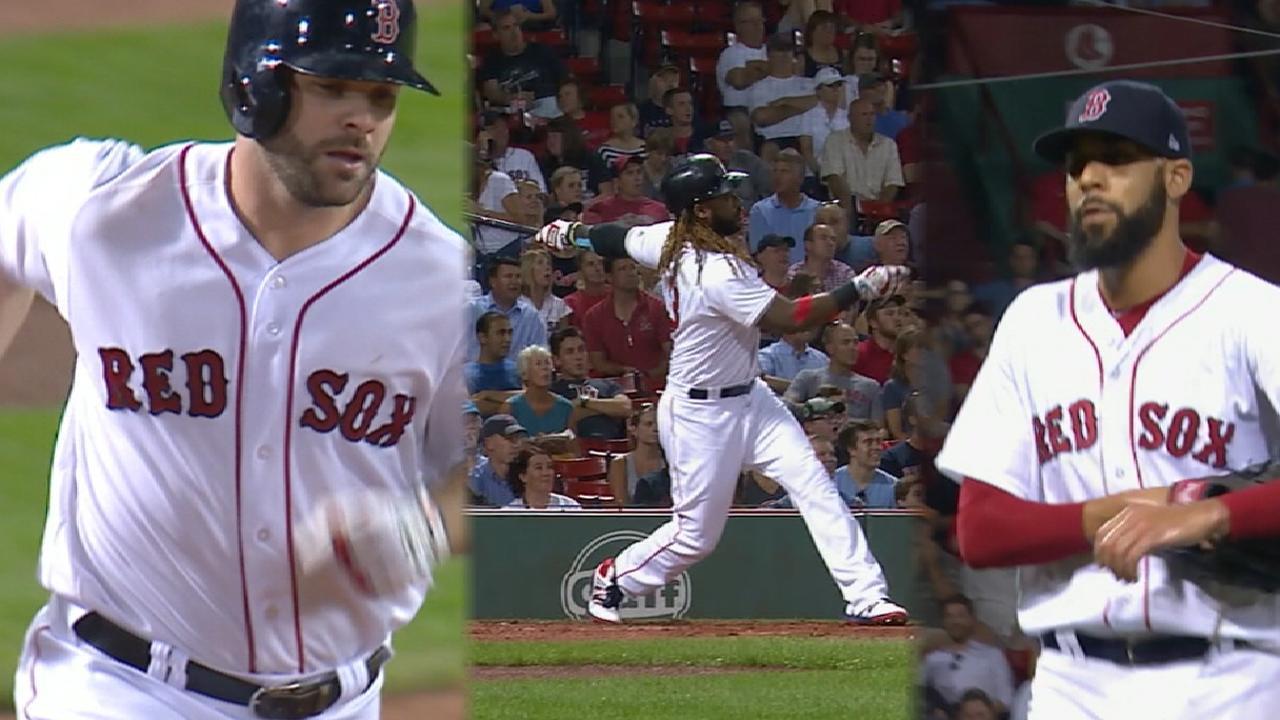 Red Sox trio make contributions