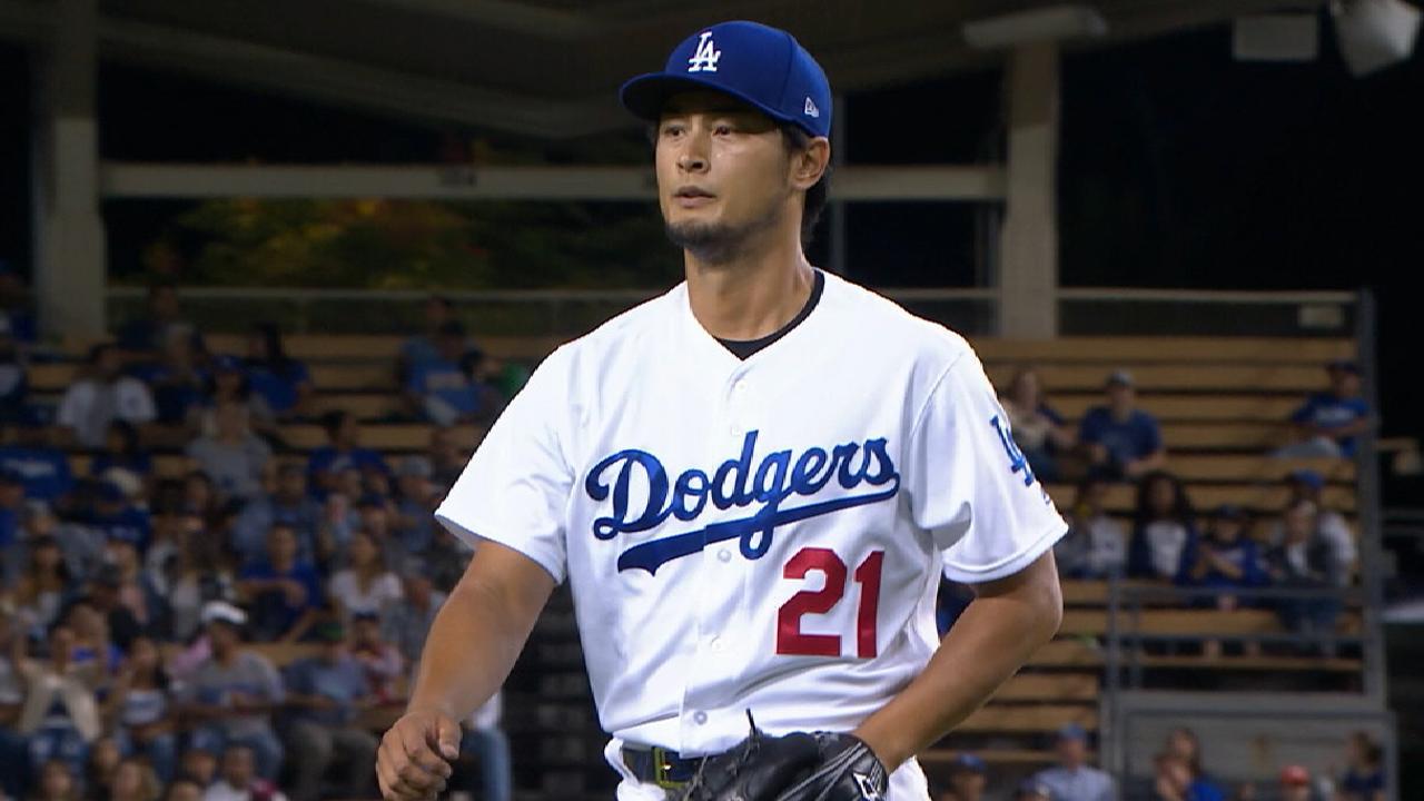 Darvish bolstered Dodgers' staff