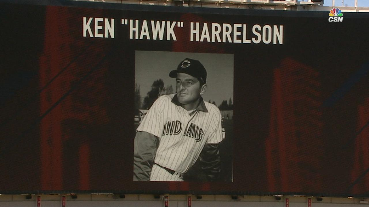 Hawk honored during final road game