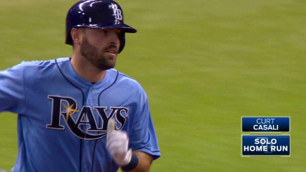 Casali, Snell power Rays in finale shutout of O's