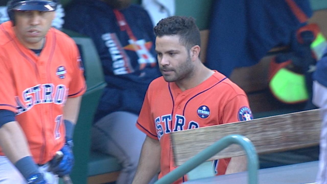 Astros broadcast on Altuve's '17
