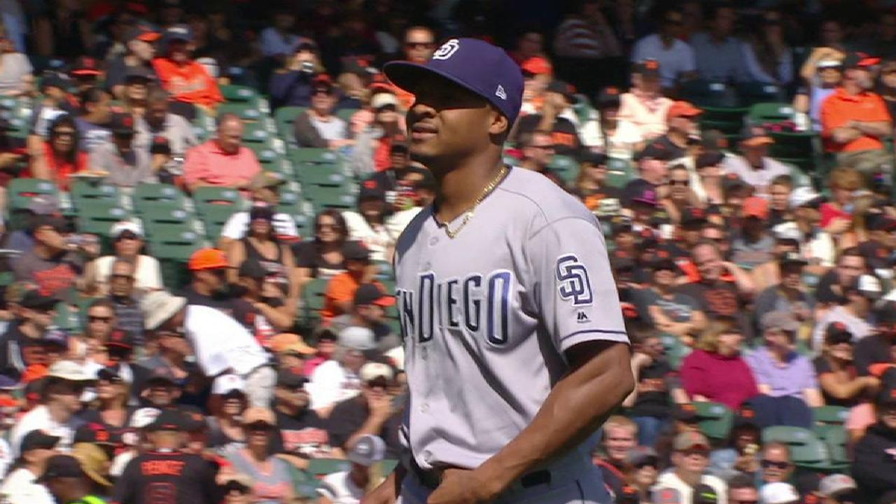 Perdomo rings up Parker