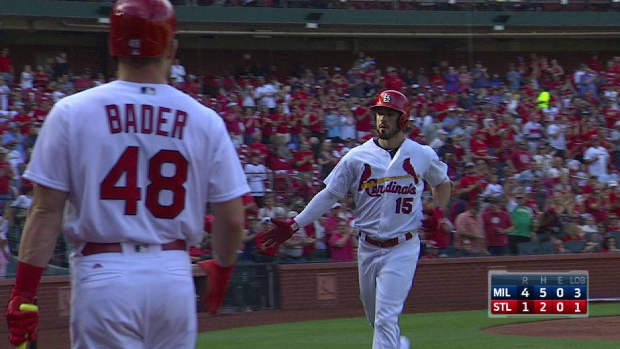 Grichuk may be odd man out in Cards' outfield