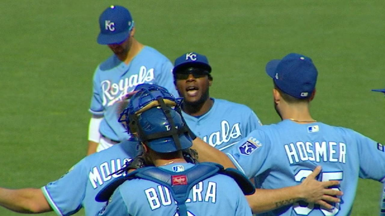 Royals 'core four' takes one final bow