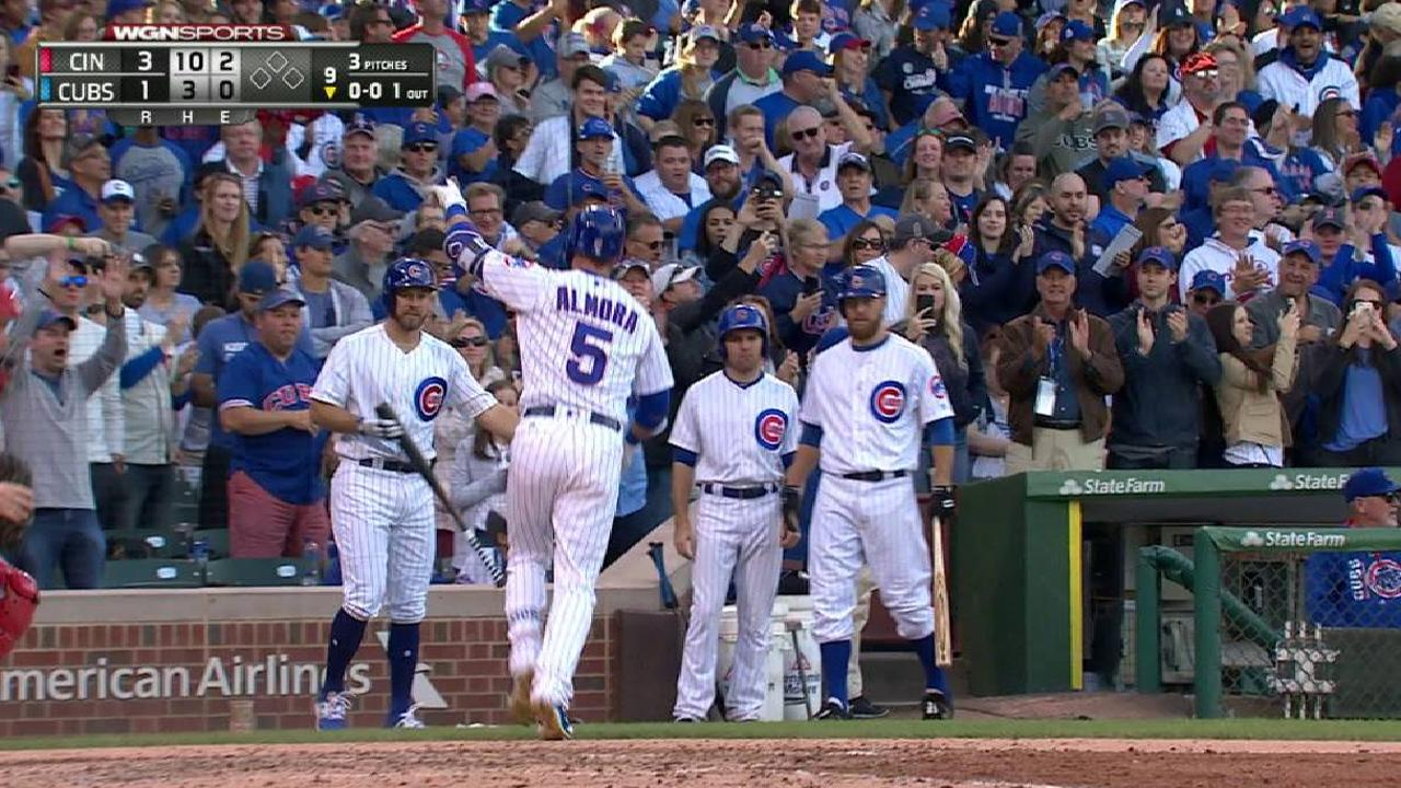 Cubs concluyen temporada regular con derrota ante Rojos