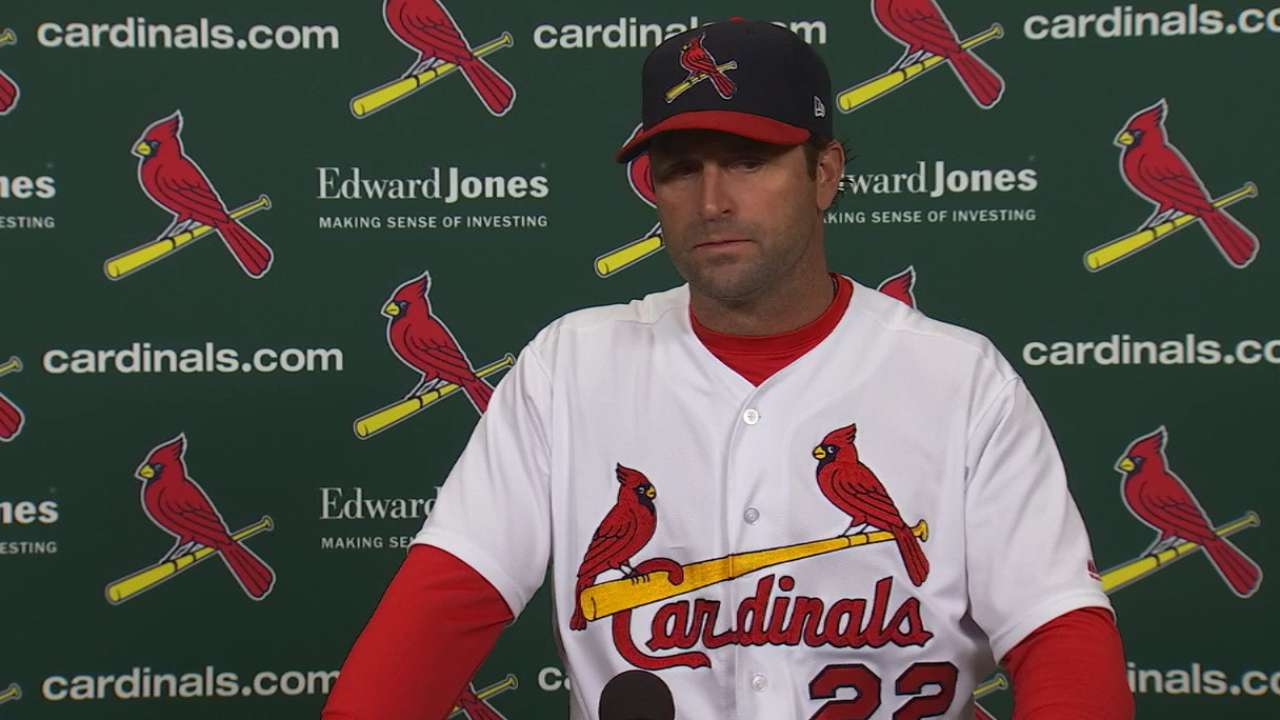 Matheny talks loss to Brewers
