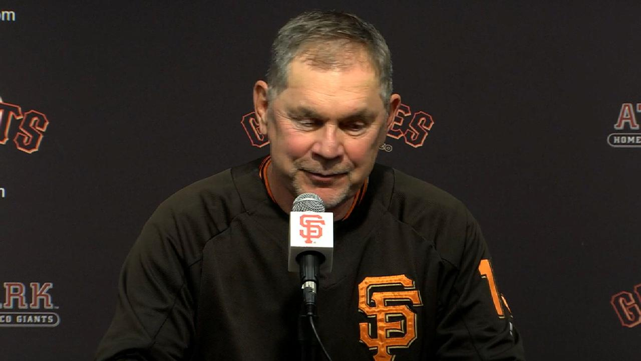 Bochy talks Sandoval's walk-off