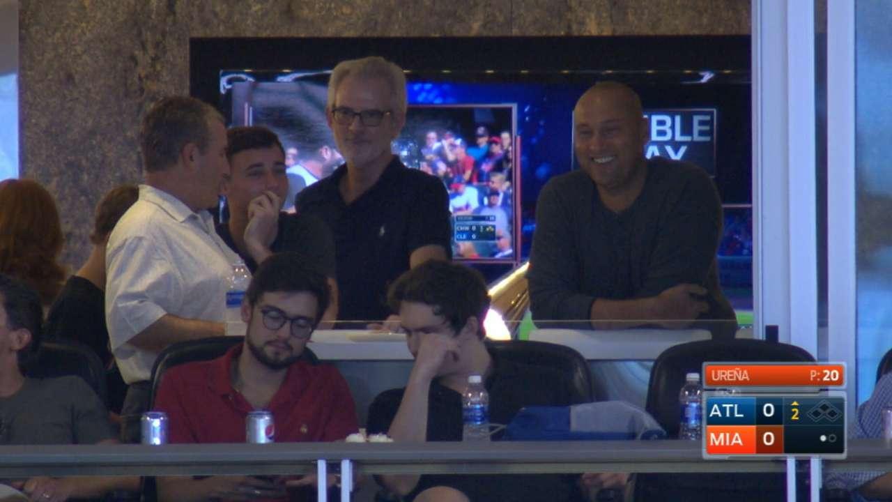 Jeter, Sherman in attendance