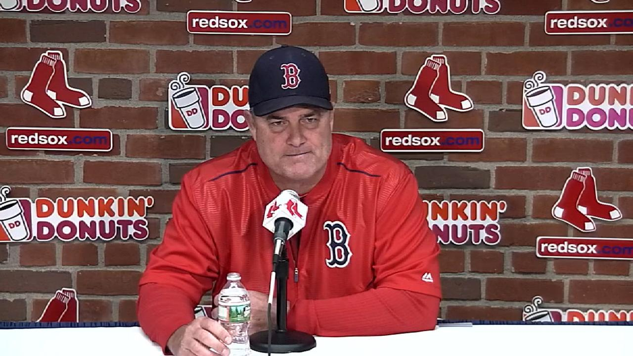 Farrell on facing Astros in ALDS