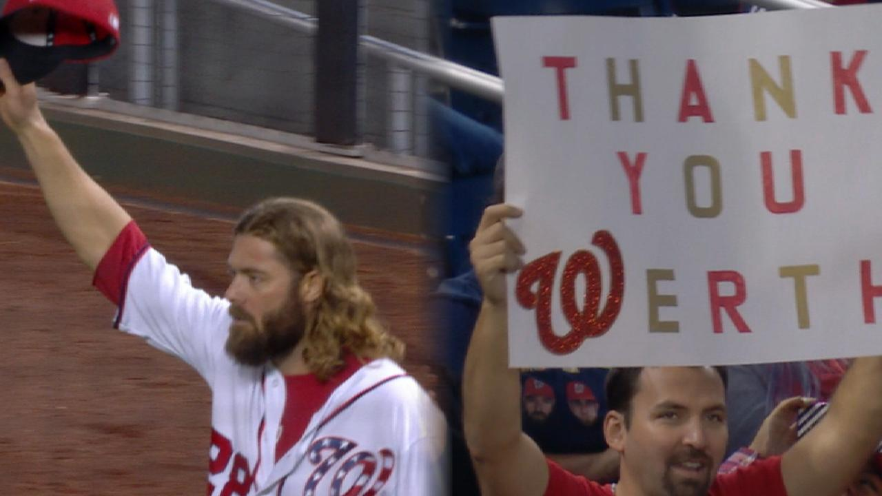Werth receives ovation in finale