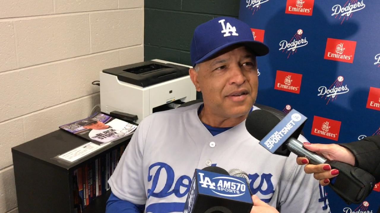 Roberts on preparing for NLDS