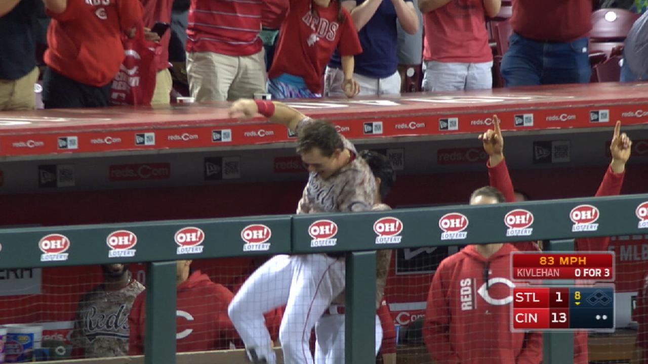 Votto, Gennett among Reds' highlights in 2017