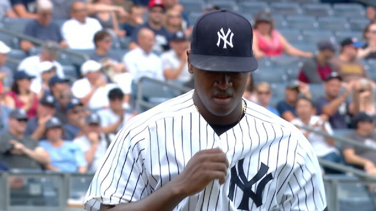 Severino on starting AL WC Game
