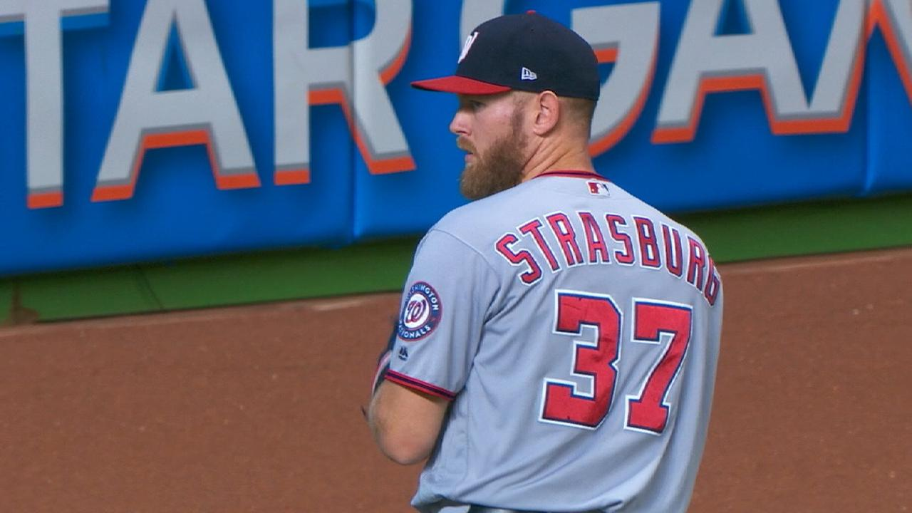 Pitcher of the Month: Strasburg