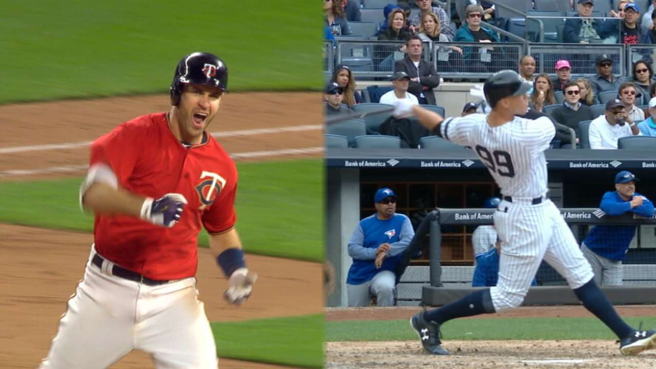 Date expectations: Twins, Yanks flout predictions