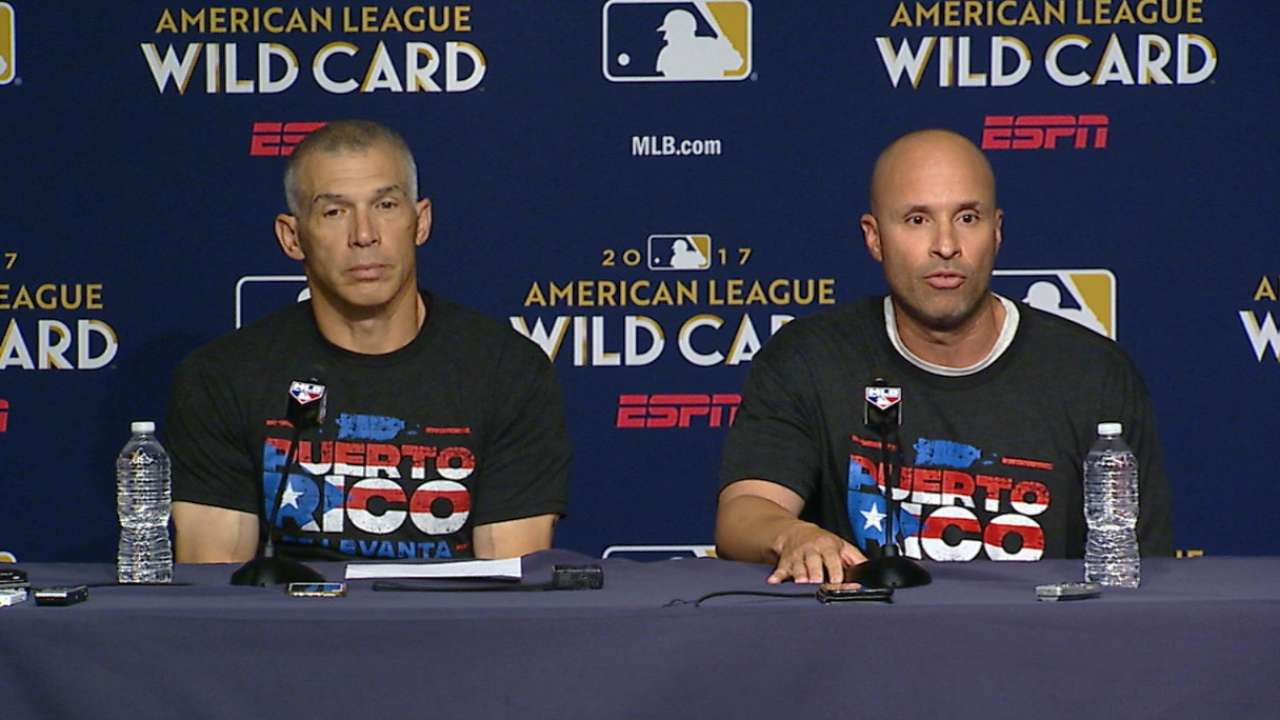 Girardi, Espada encourage aid to Puerto Rico