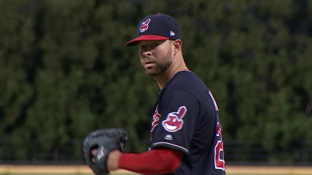 Kluber named AL Pitcher of Month