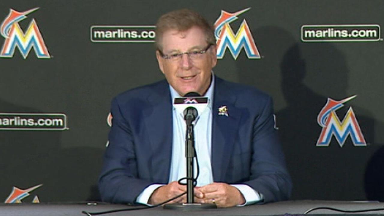 Sherman excited to own Marlins
