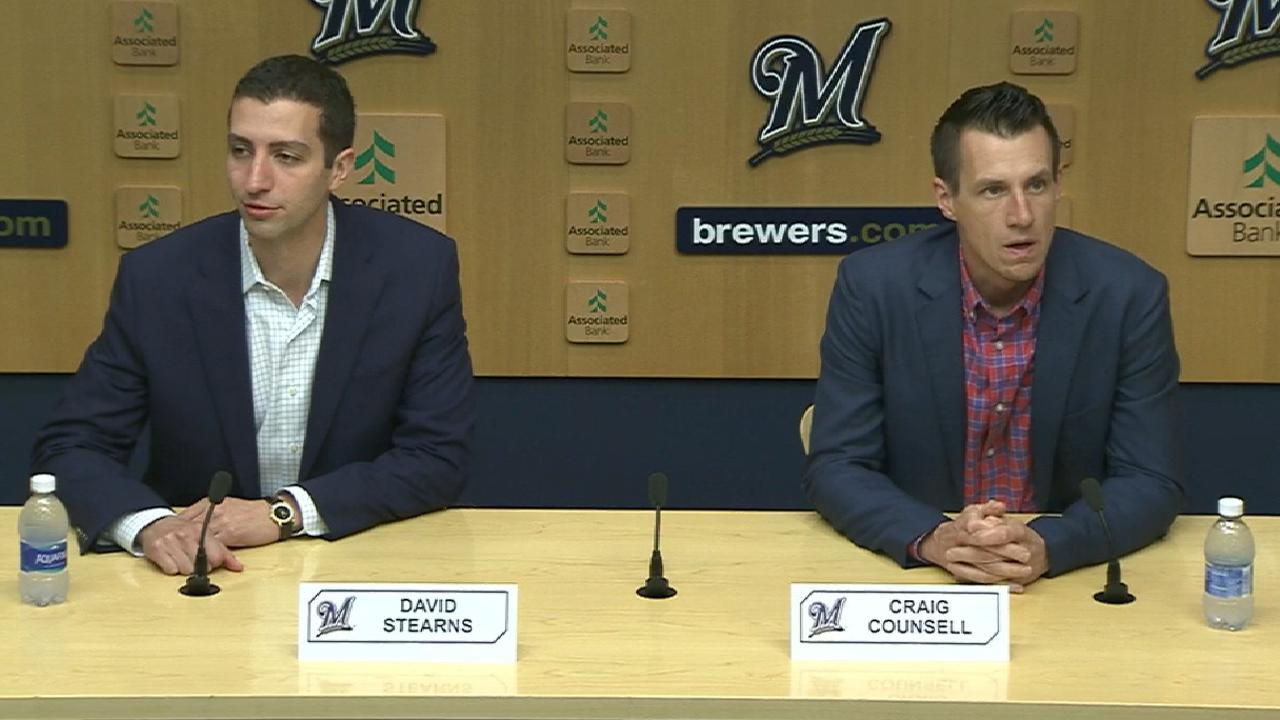 Stearns exploring moves to bolster Brewers
